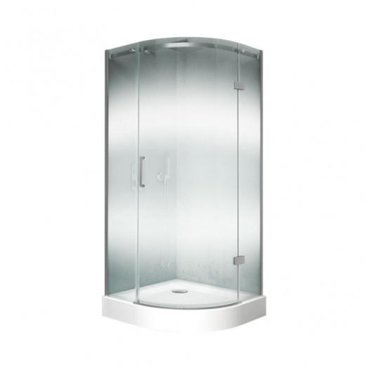 Набор Q-tap душевая кабина Virgo CRM1099AC8 Clear + поддон Uniarc 309915