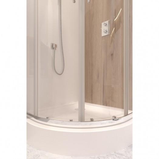 Набір Qtap душова кабіна Taurus CRM1099AC6 Clear + піддон Uniarc 309915