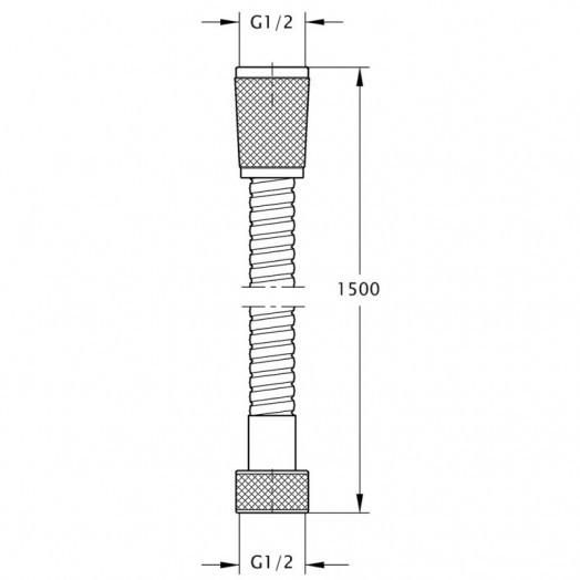 Шланг для душу Bianchi FLS460150AB9CRM