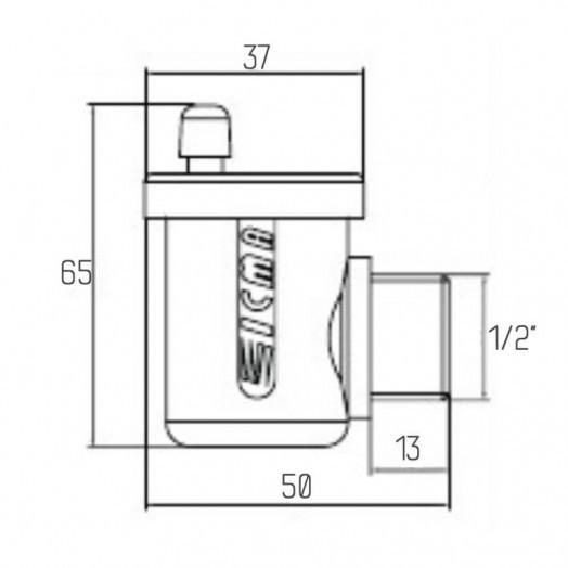 Воздухоотводчик автоматический Icma №715