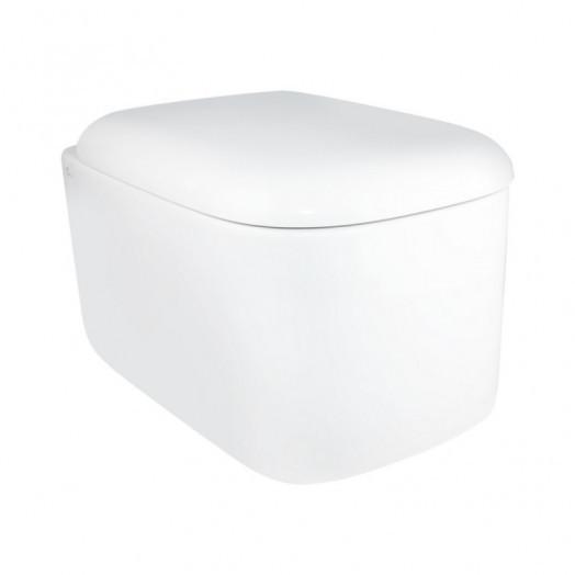 Унітаз підвісний Qtap Orlan з сідінням Soft-close QT0332150W