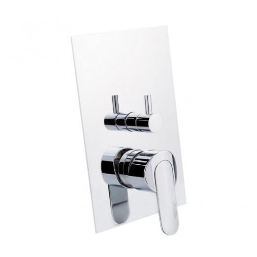 Змішувач прихованого монтажу для ванни Bianchi Heaven INDHEV2304CRM для трьох споживачів
